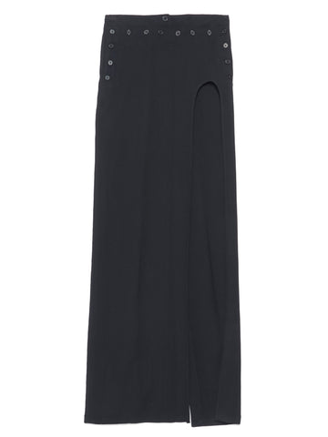 Ann Demeulemeester High Slit Maxi Skirt