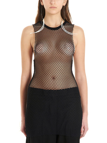 Ann Demeulemeester Mesh Sleeveless Top