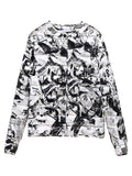 Balenciaga Graphic Printed Down Jacket