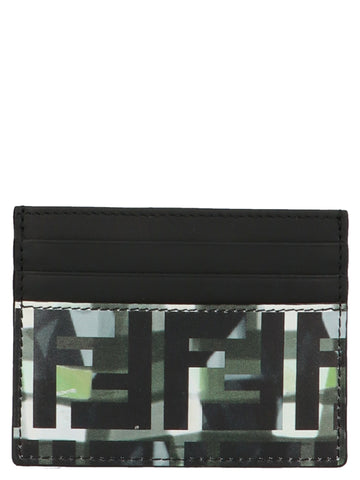 Fendi FF Camouflage Card Holder