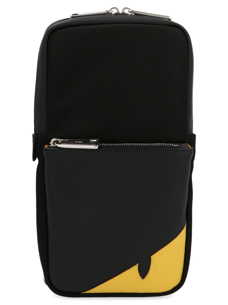 Fendi Bug Eye One-Shoulder Backpack