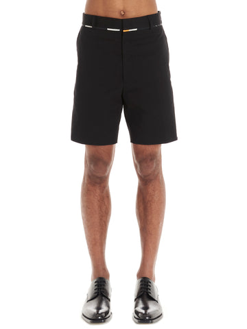 Fendi Contrast Piped Shorts