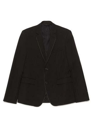 Fendi Logo Piping Blazer