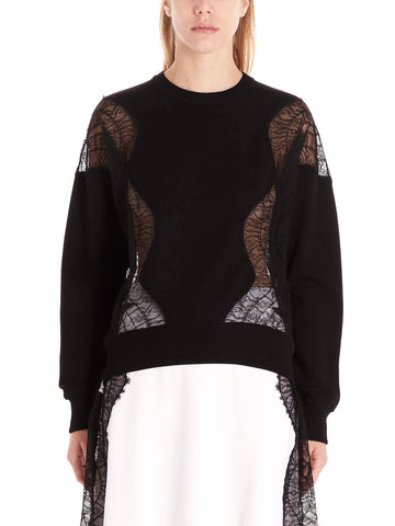 Givenchy Lace Paneled Sweater