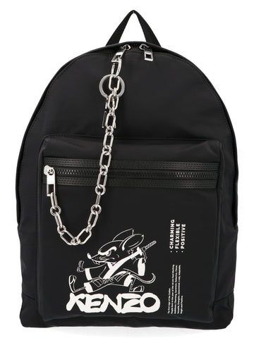 Kenzo Chinese New Year Logo Backpack