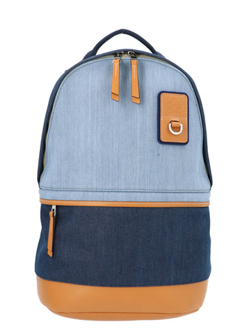Loewe Panelled Logo Patch Backpack