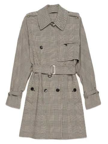 Max Mara Aloe Double Breasted Trench Coat