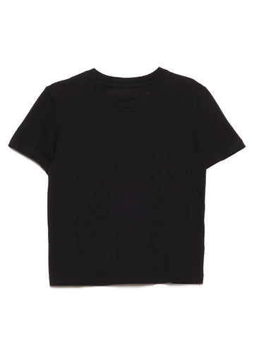 Mm6 Maison Margiela Logo Embroidered T-Shirt