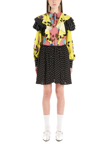MSGM Patchwork Dress