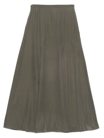 Theory Asymmetric Drape Maxi Skirt