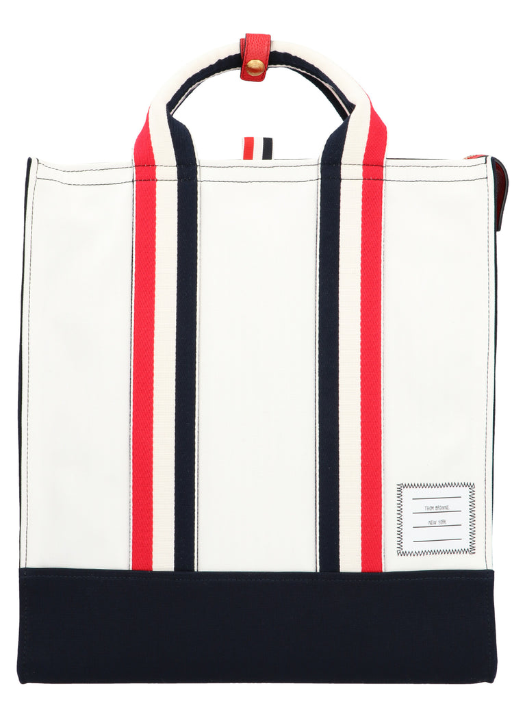 Thom Browne Web Tote Bag