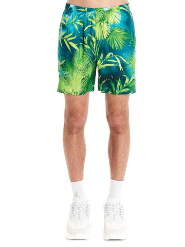 Versace Jungle Print Swim Shorts