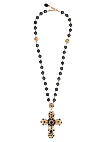 Dolce & Gabbana Cross Charm Necklace