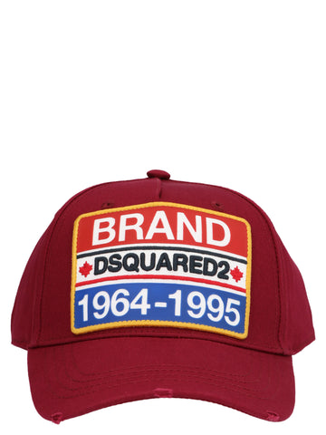 Dsquared2 Logo Patch Cap