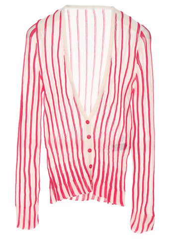 Jacquemus Le Gilet Striped Cardigan