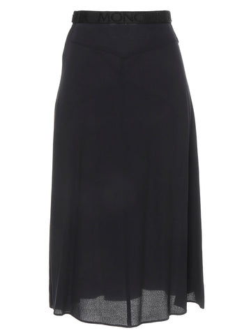 Moncler High-Waisted Midi Skirt