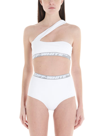 Off-White One Shouldered Bikini