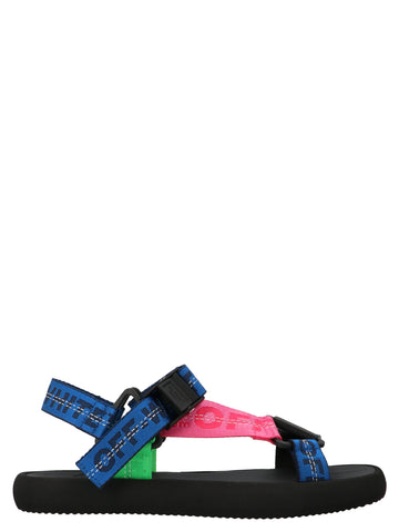 Off-White Logo Strap Sandals