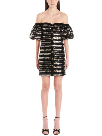 Philosophy Di Lorenzo Serafini Off Shoulder Mini Dress