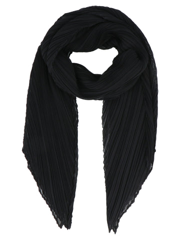 Pleats Please By Issey Miyake Pleated Scarf
