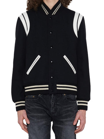 Saint Laurent Teddy Bomber Jacket