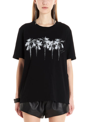Saint Laurent Palm Tree Print T-Shirt