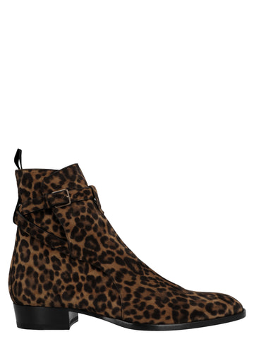 Saint Laurent Wyatt Ankle Boots
