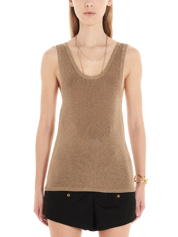 Saint Laurent Metallic Tank Top