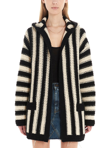 Saint Laurent Striped Cardigan