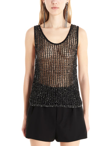 Saint Laurent Mesh Tank Top