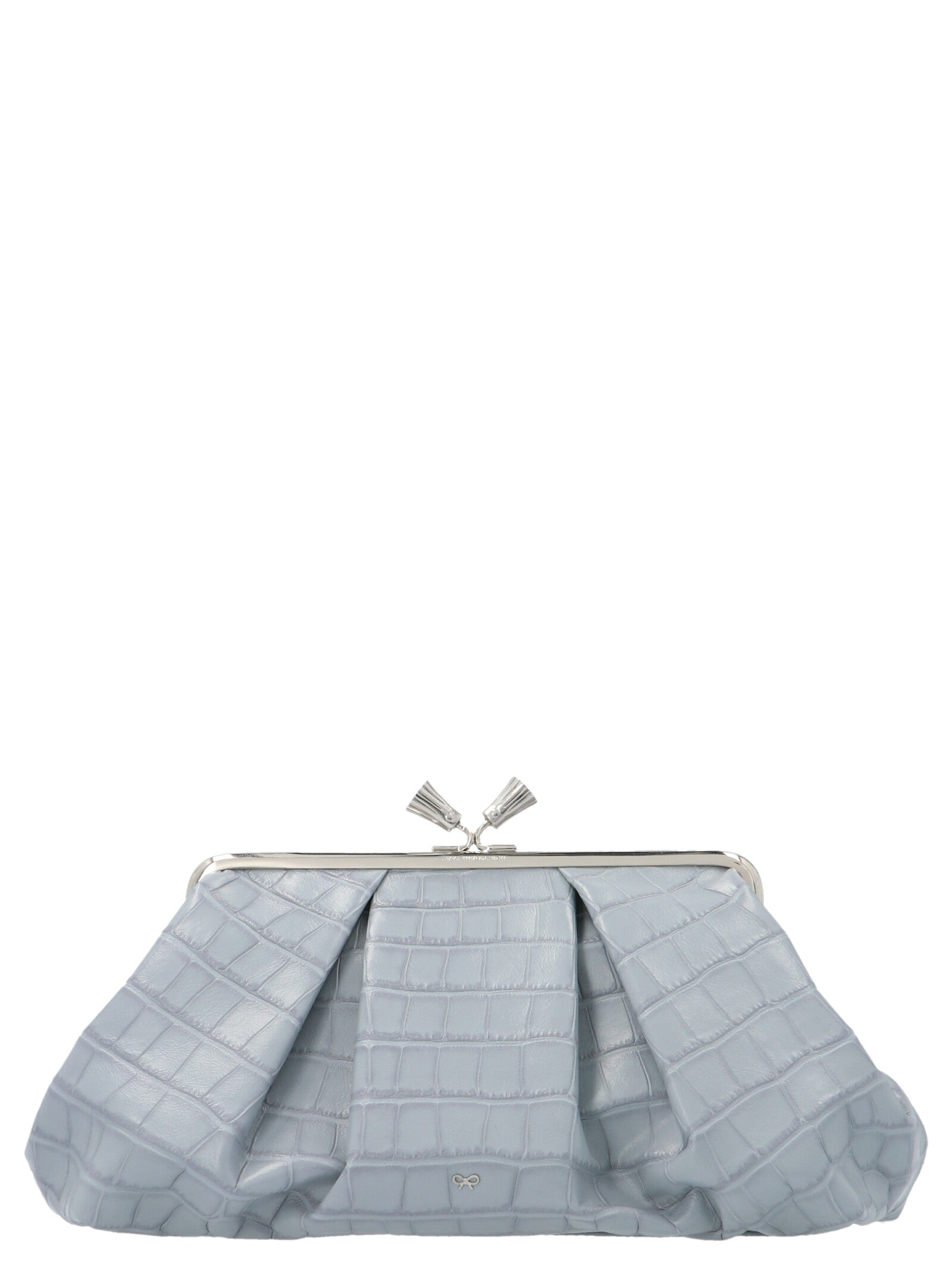 Anya Hindmarch ANYA HINDMARCH LARGE MAUD TASSEL CLUTCH BAG