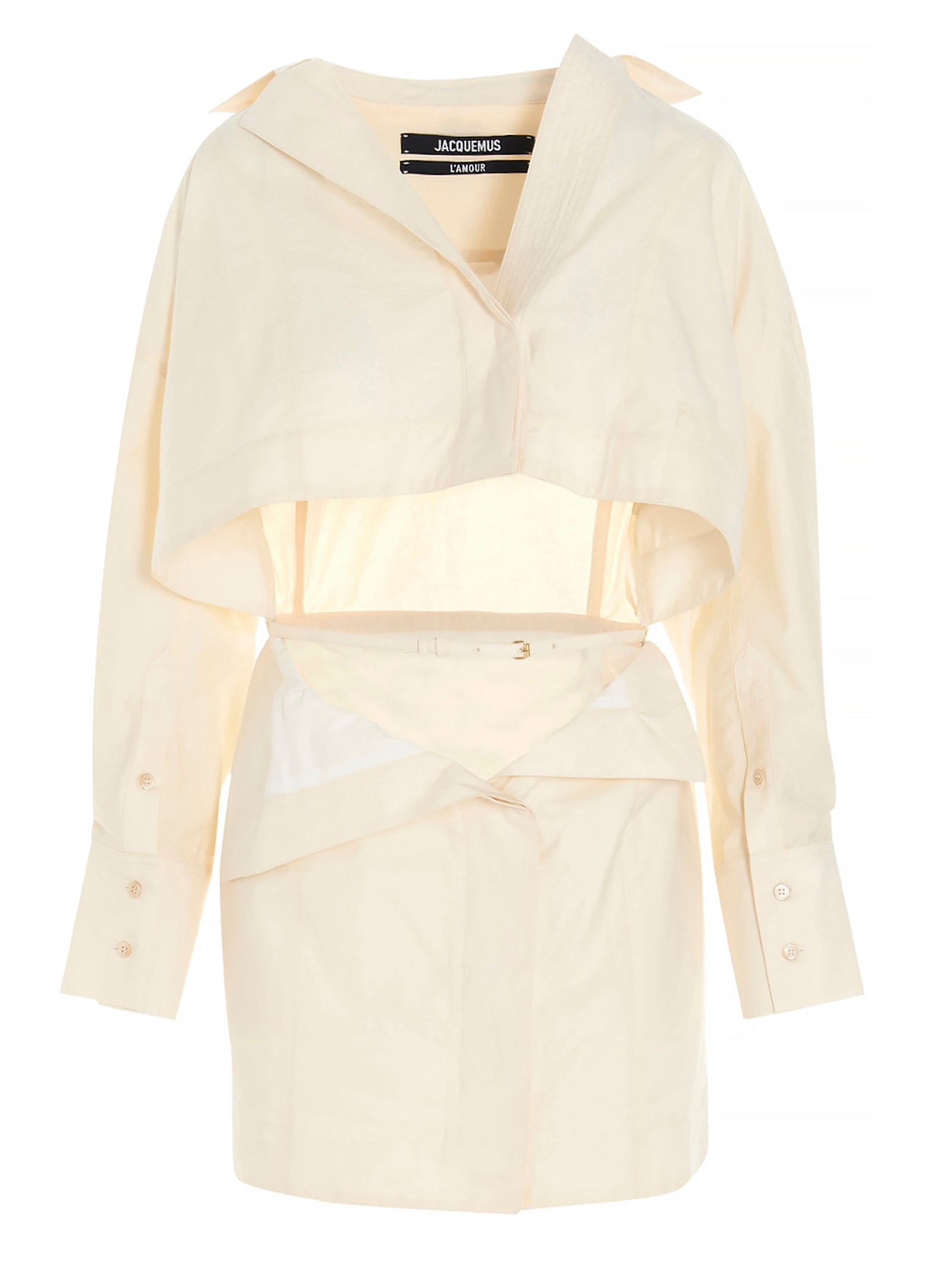 Jacquemus JACQUEMUS LA ROBE TERRAIO MINI SHIRT DRESS