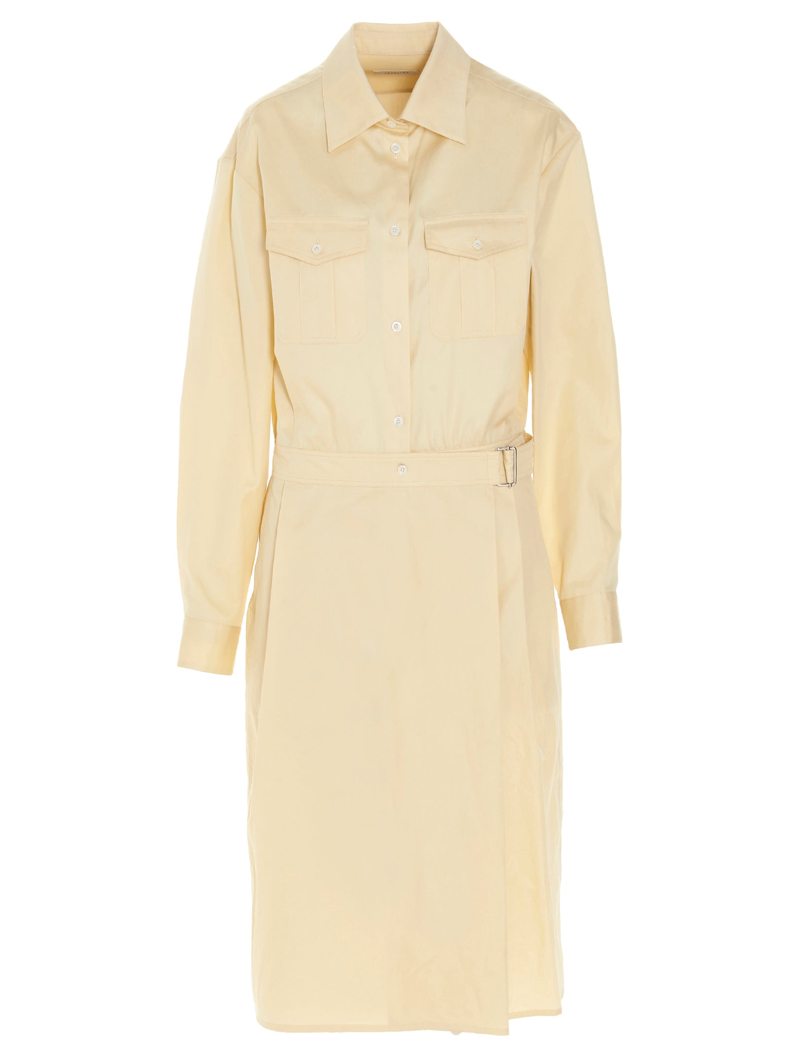Lemaire Midi dresses LEMAIRE BELTED SHIRT DRESS