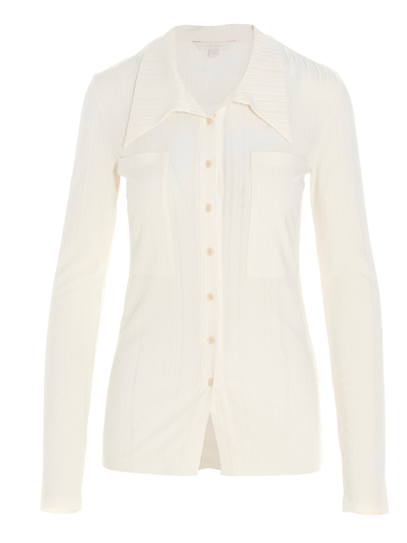 Low Classic Shirts LOW CLASSIC BUTTONED JERSEY TOP