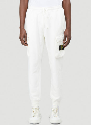 Stone Island Logo Patch Sweatpants