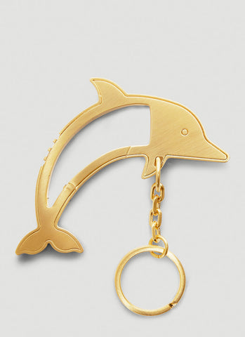Thom Browne Dolphin Icon Key Ring