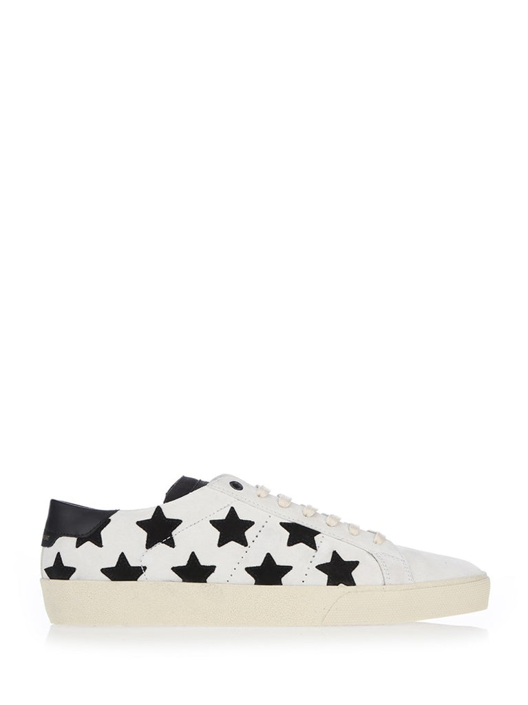 Saint Laurent Low Top Star Patch Sneakers