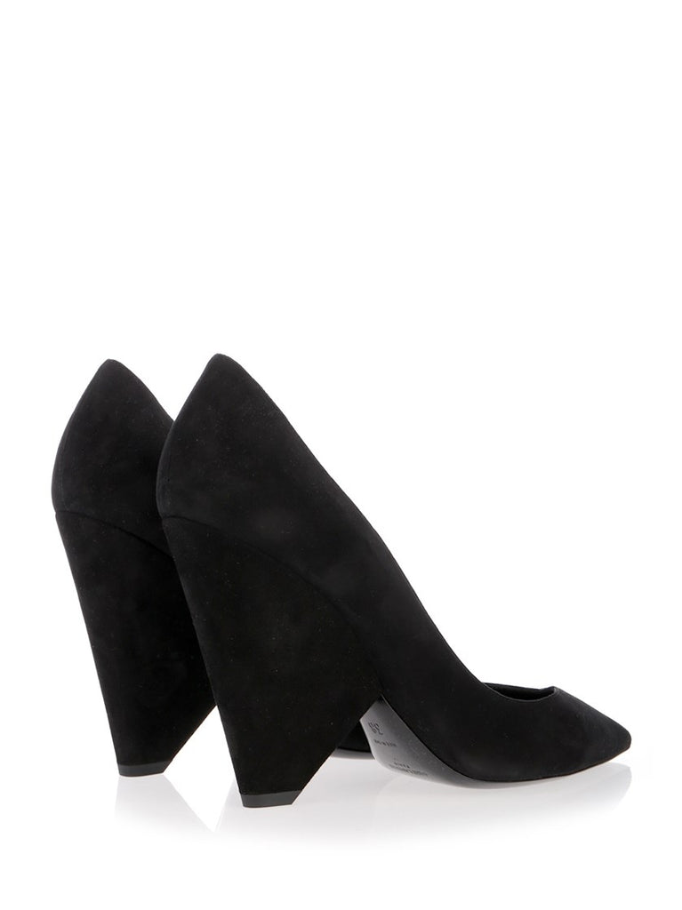 4088d169aa56 Saint Laurent Niki 85 Suede Pumps – Cettire