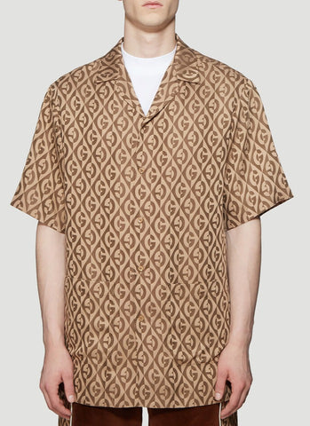 Gucci G Rhombus Short Sleeved Shirt