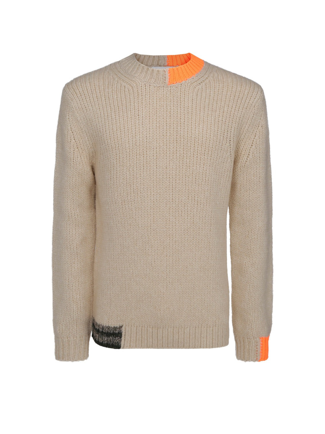 Helmut Lang Sweaters HELMUT LANG CREWNECK KNITTED SWEATER
