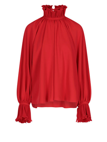 Balenciaga High Neck Blouse