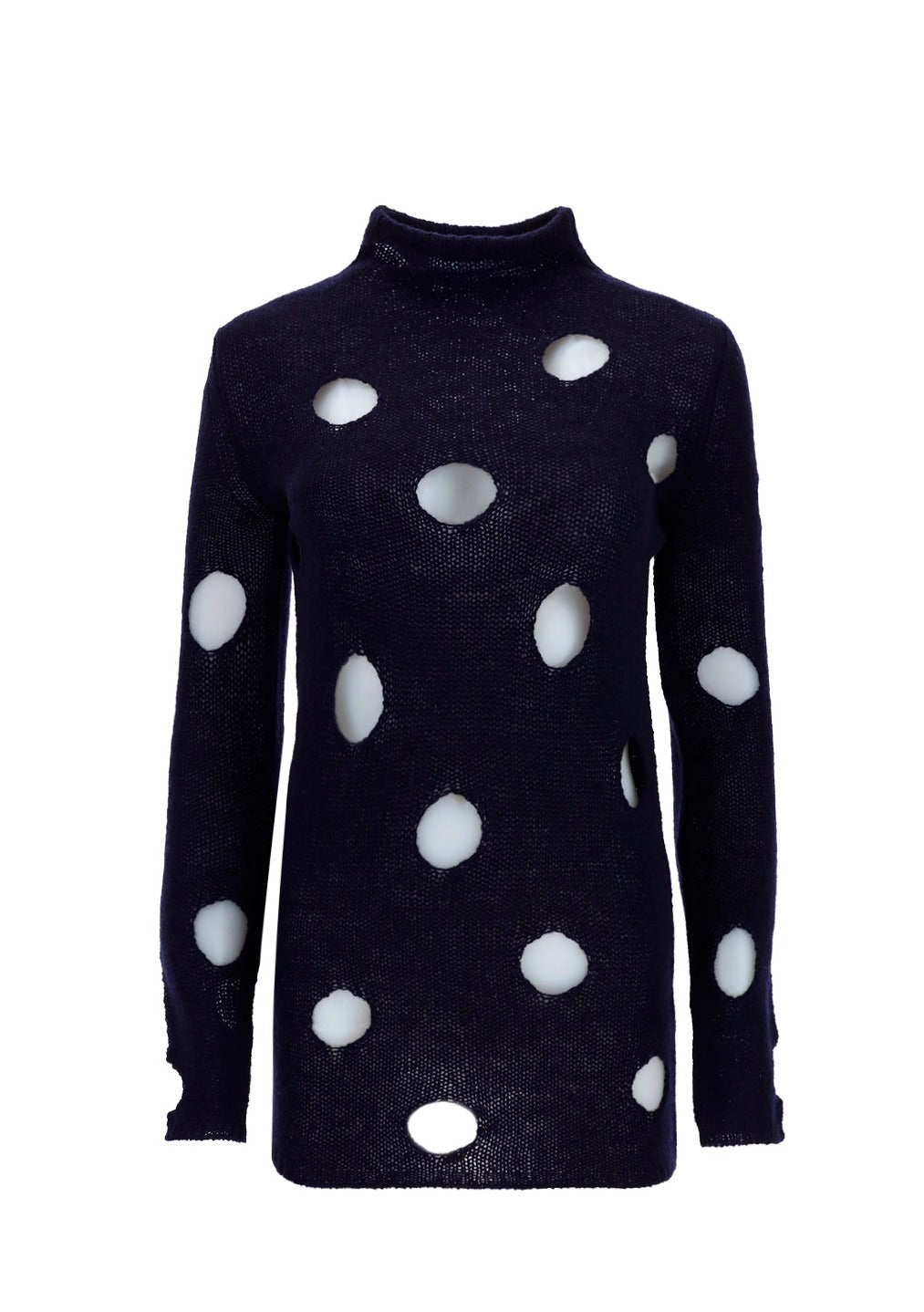 Prada PRADA CUT OUT TURTLENECK SWEATER