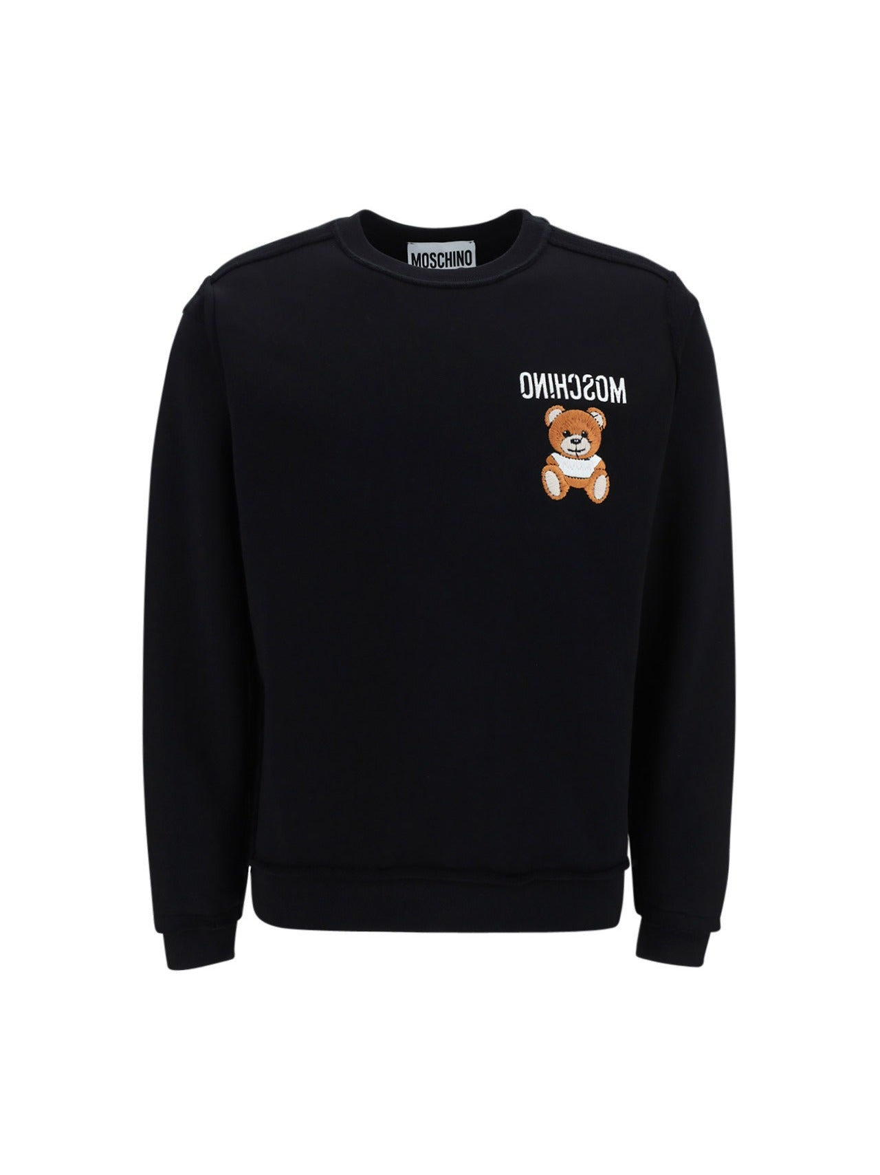 Moschino MOSCHINO TEDDY BEAR EMBROIDERED SWEATSHIRT