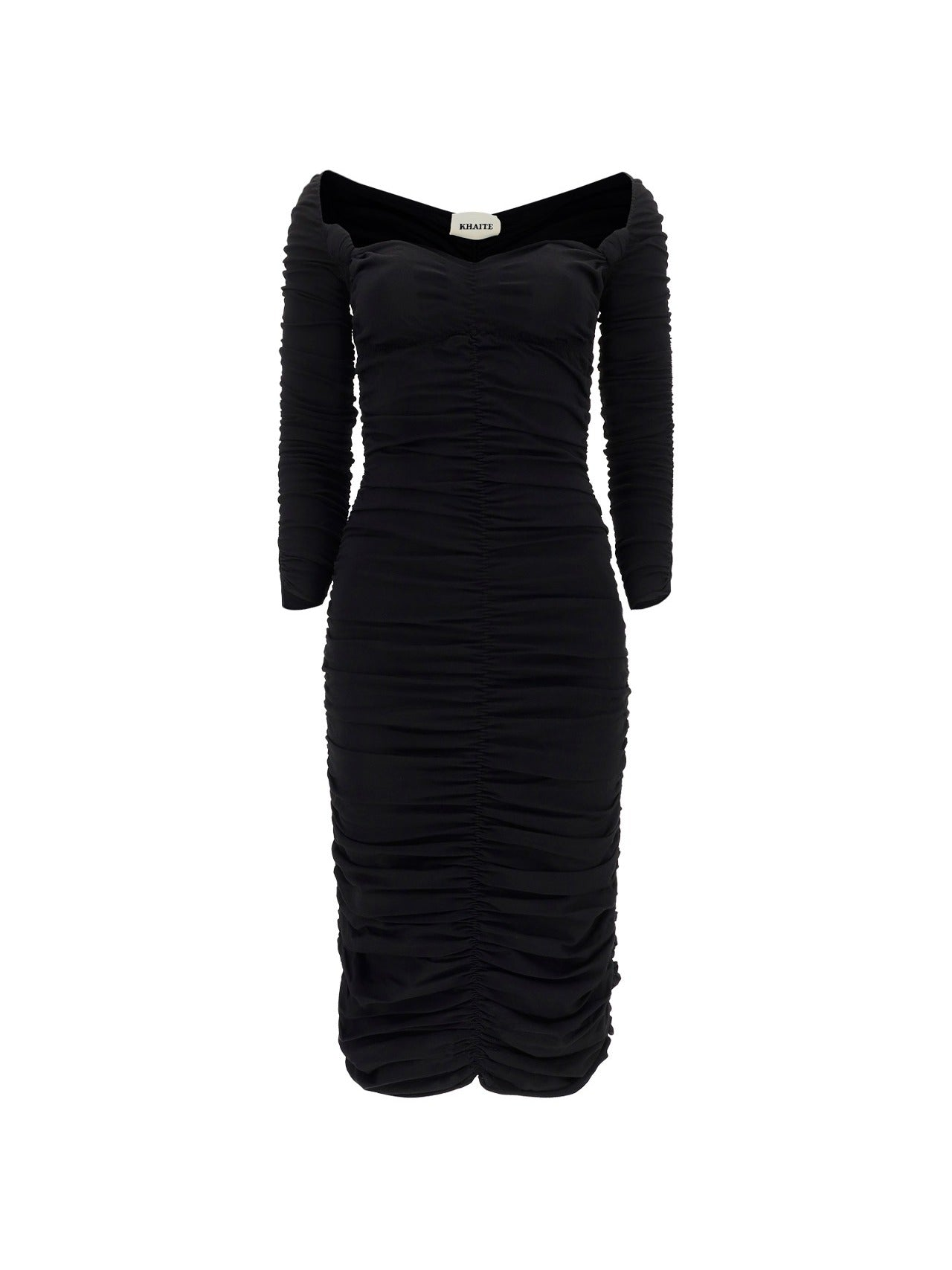 Khaite Knits KHAITE THE CHARMAINE MIDI DRESS