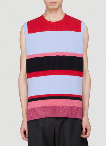 JW Anderson Striped Sleeveless Sweater