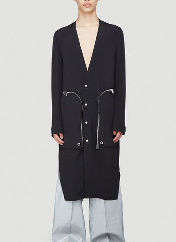 Rick Owens Zip Pocket Coat