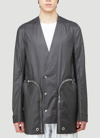 Rick Owens Zipped Pocket Jacket