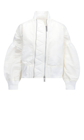 Sacai Billow Sleeves Bomber Jacket