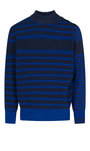 Sacai Contrasting Stripes Sweater