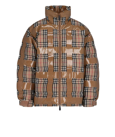 Burberry Checked Puffer Jacket